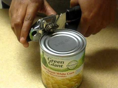 can opener how to can opener