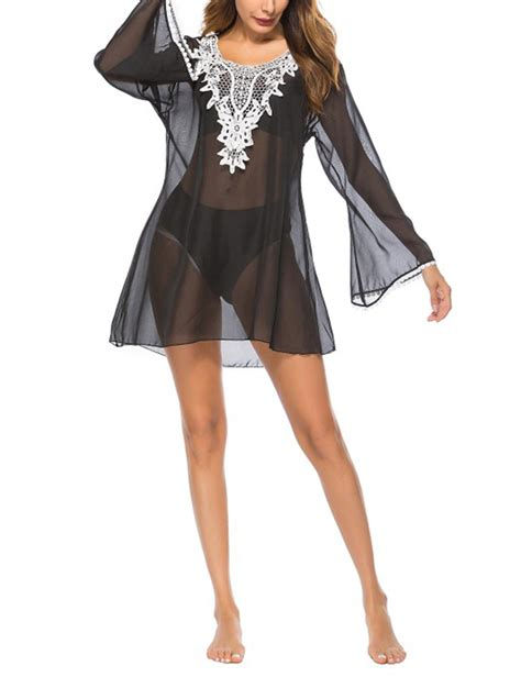 02394 White Embroderie Outer Blouse ethnic style embroidered black outer blouse sleeves