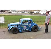 Todd Racing Legends Car For First Time Charlotte NC Oct