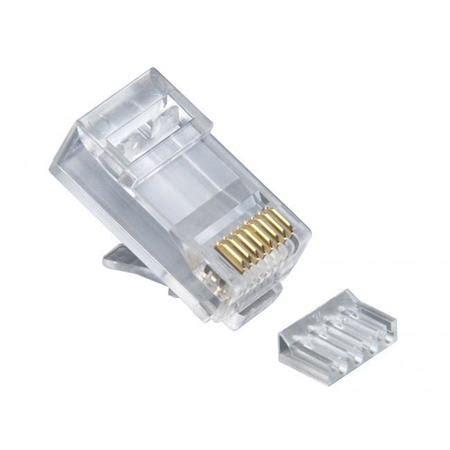 Platinum Tools Cat6 Rj45 8p8c 2 Pc Round Solid 3p Hp
