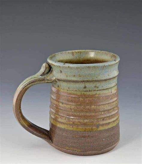 Handcrafted Ceramics - handmade pottery mug oasis glaze 12 oz giftedpottery