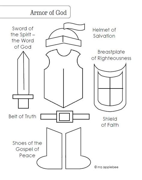 armor of god coloring pages bible printables coloring armor of god coloring page