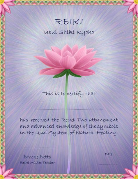 compare reiki certification classes