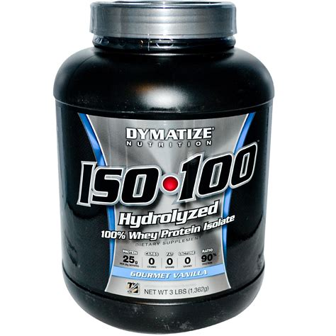 Dymatize Whey Protein Isolate Dymatize Nutrition Iso 100 100 Whey Protein Isolate