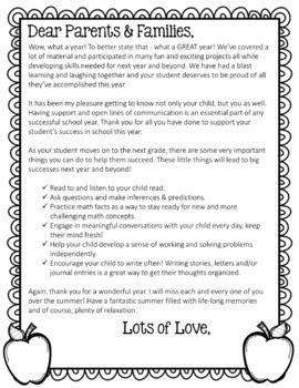 editable year letter parents color black