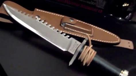 rambo blood knife rambo blood 1982 rambo survival knife prop by