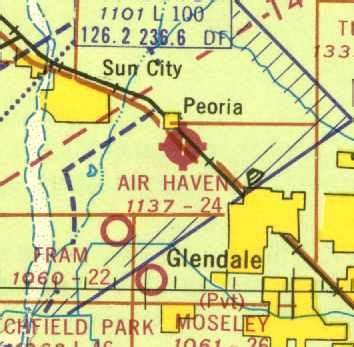arizona sectional chart abandoned little known airfields northwest phoenix area