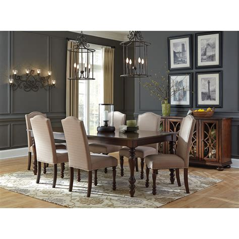 ashley furniture dining room sets lightandwiregallery com signature design by ashley baxenburg 7 piece dining room