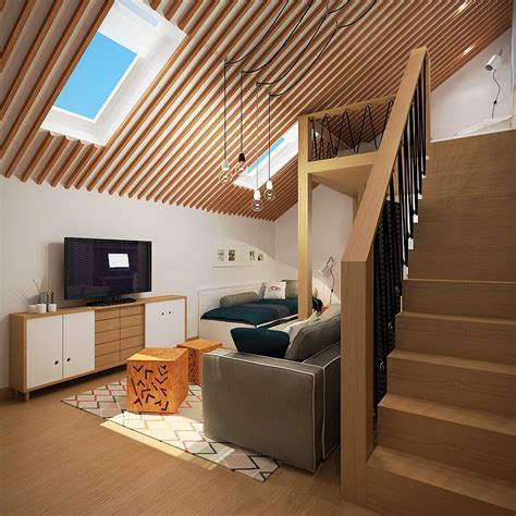 home inside roof design pitched roof apartment interior design ideas