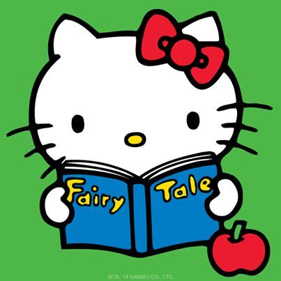 Hello Word Children Book Buku which tale is hellokitty reading today supercute