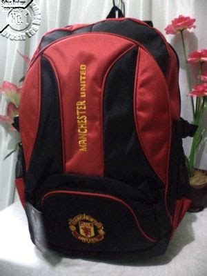 Tas Ransel Laptop Club Bola tas ransel laptop club bola lrz 12 manchester united mu