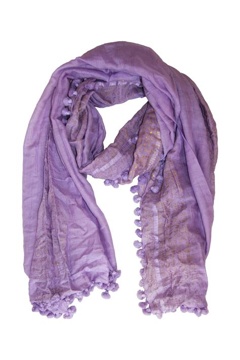 Scarves Import Purple beshlie lilac dupatta scarf from hshire by hetre