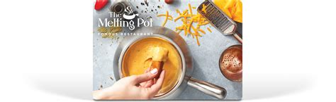 Where To Get Melting Pot Gift Cards - gift cards shop the melting pot