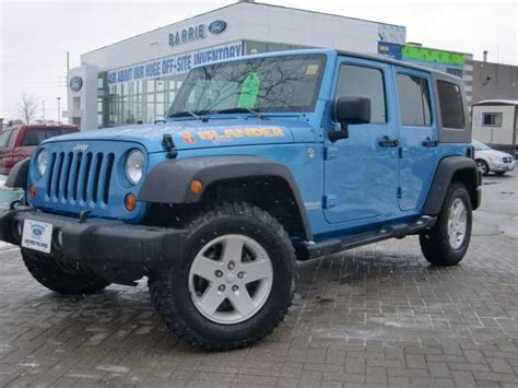 Jeep Wrangler Islander For Sale 2010 Jeep Wrangler Unlimited Islander 4x4 Barrie