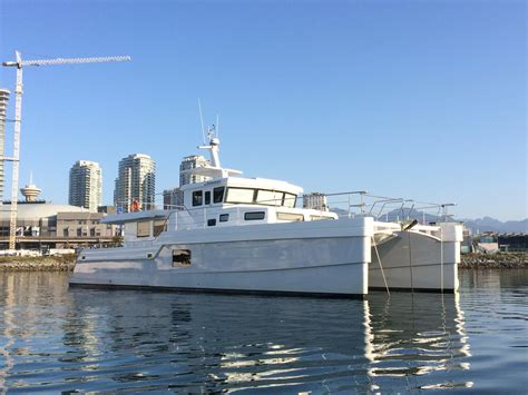 lagoon catamaran for sale vancouver 2014 hys yachts lrc catamaran trawler power boat for sale