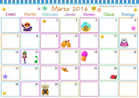 I Calendario Marzo Related Keywords Suggestions For Marzo Calendario 2016