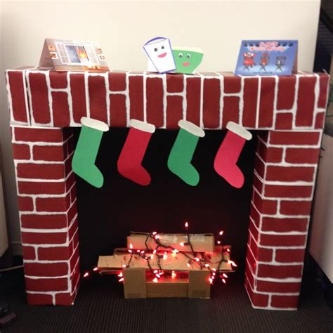 How To Make A Chimney Out Of Paper - 1000 ideas about cardboard fireplace on