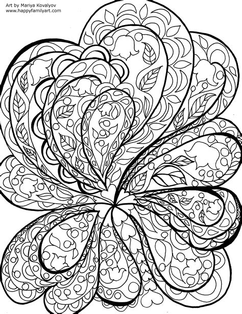 abstract sun coloring page abstractnature