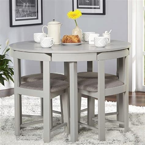 5 baxter dining set with storage ottoman colors best space saving dining table sets for your corner
