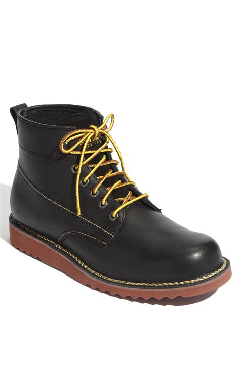 wolverines boots wolverine rory boot in black for lyst