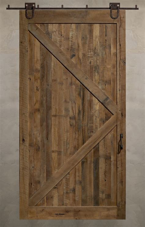 Reclaimed Sliding Barn Doors A Solid Design Statement Barn Door Design