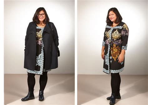 mode grosse groessen  size outfit tipps incurvy