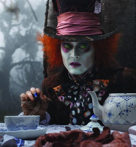 film animasi mad hatter johnny depp s most amazing transformations