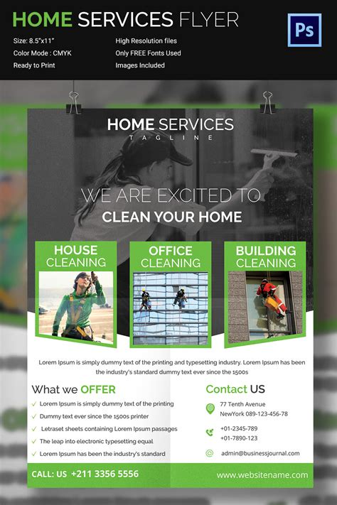 flyer design services house cleaning flyer template 23 psd format download