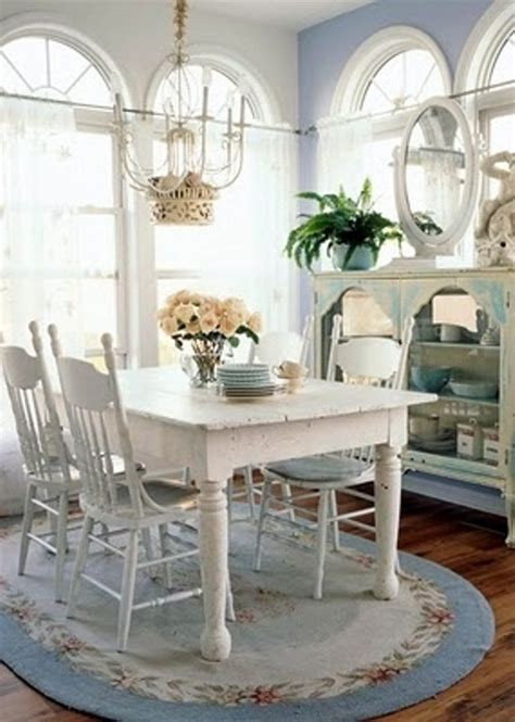shabby chic dining room tables 39 beautiful shabby chic dining room design ideas digsdigs