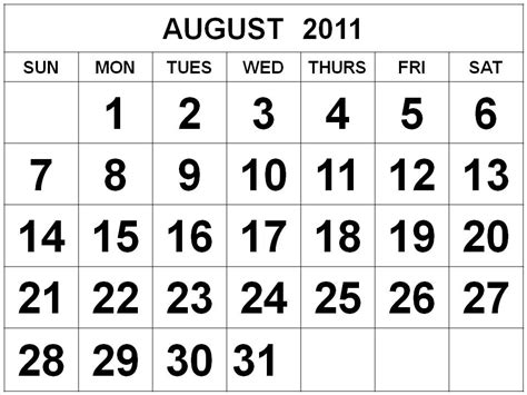 August 2011 Calendar In You Missed It August 11 At Faith And Heritage