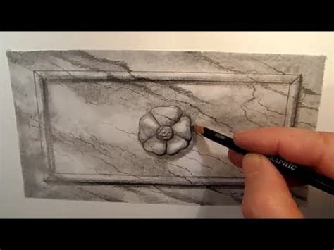 Drawing Marble Frame, Time Lapse - YouTube