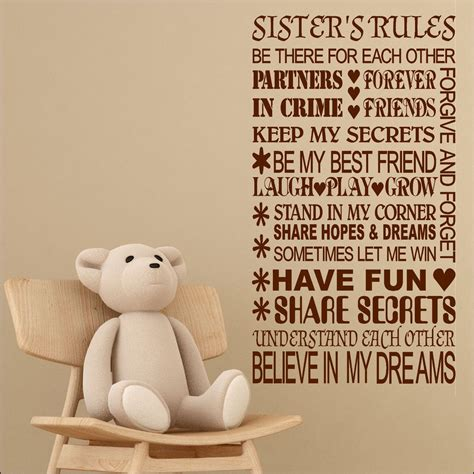 Wall Sticker Wallsticker Forever Friendship Sk7097 wall sticker quote forever friends keep secrets cut vinyl transfer bespoke graphics