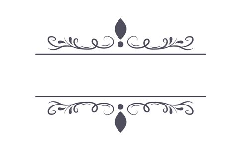 free vintage border decorative ornaments png peoplepng