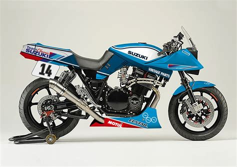 suzuki samurai motorcycle suzuki to build katana endurance racer at motorcycle live