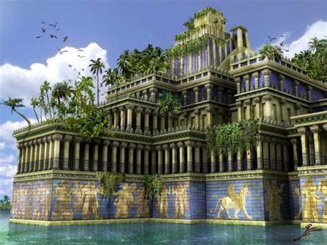 Gardens Of The Ancients - the history of living walls living walls and vertical