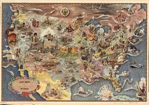 america s key historical events in one map vox