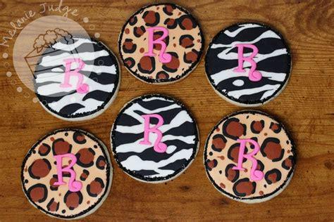 zebra pattern icing cake walk zebra leopard print cookies