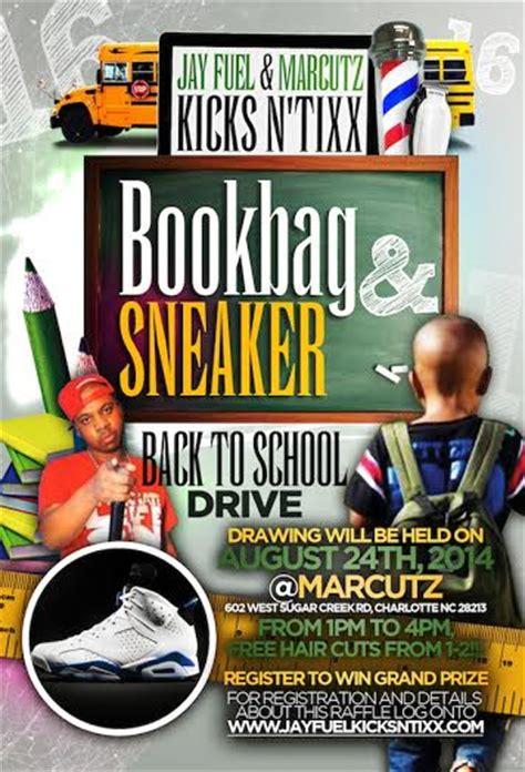 Book Bag Giveaway - jayfuelkicksntixx back to school book bag n shoe giveaway
