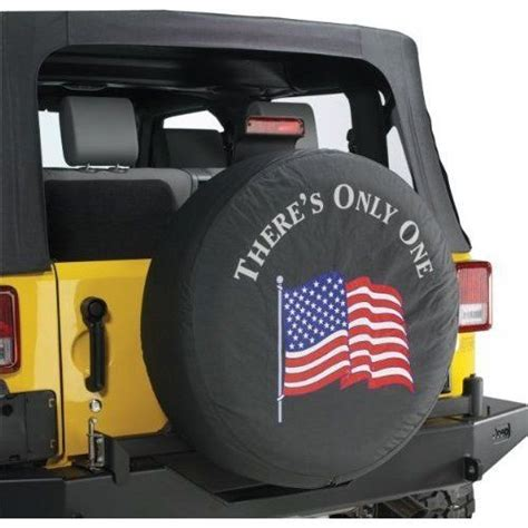 jeep wrangler tire cover black denim quot there s only one