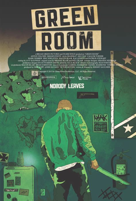 the green room review cannes review green room