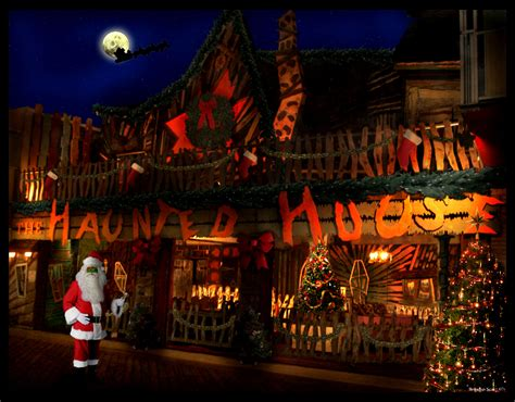 christmas haunted house trimper s haunted house fan art