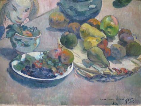 gauguin his life and paul gauguin his life his work his menus