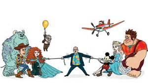 pixar l animation pixar vs disney animation lasseter s tricky tug of
