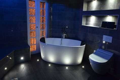 Led Bathroom Lighting Ideas Knoetze Master Builders In Surrey Bathroom Ideas