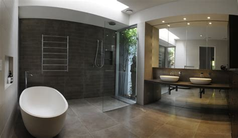 Modern Bathroom Australia Family Home Melbourne Australia Contemporary Bathroom