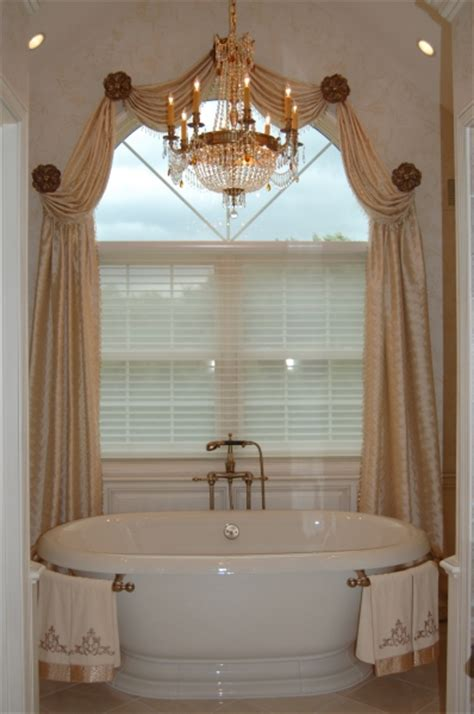 Palladian arched top curved top window curtain ideas and photograph