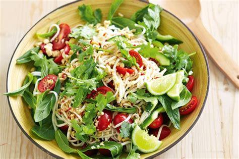 thai noodle salad recipe taste com au