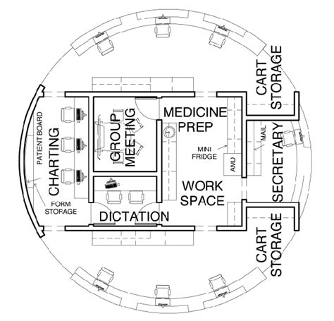 layout plan for voting station nurses station design from a looney perspective