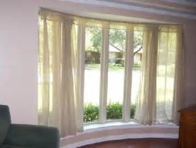 bay window sheers bendable curtain rod transitional
