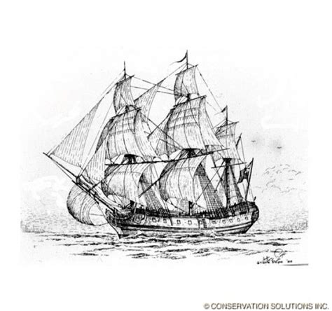 pirate ship drawing images clipartxtras